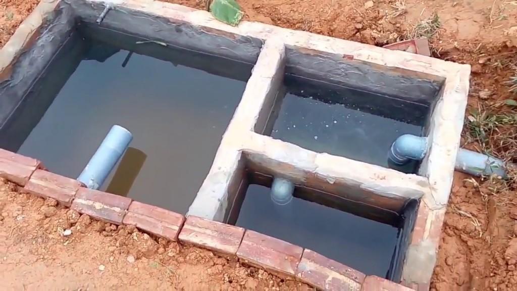 Bể phốt tự hoại xây bằng gạch