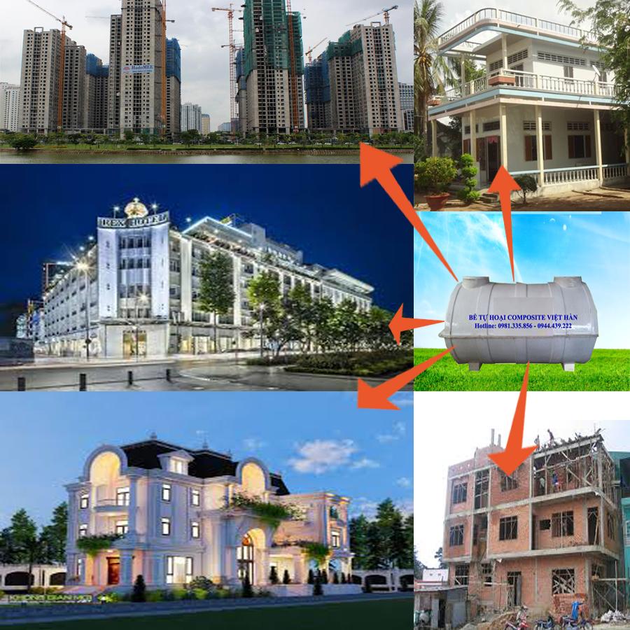 bể phốt composite Việt Hàn