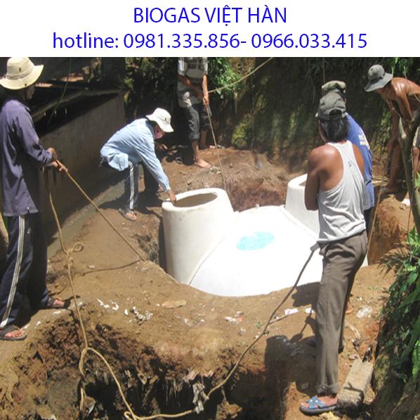 Tại sao hầm biogas không có gas