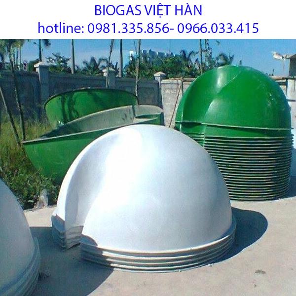 Bình biogas bằng nhựa