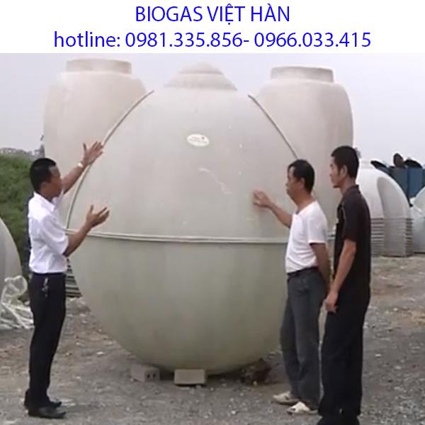 Bồn biogas nhựa composite