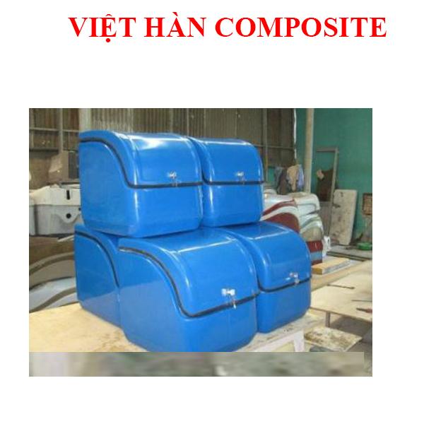 THÙNG CHỞ HÀNG COMPOSITE KÍCH THƯỚC 42x43x45