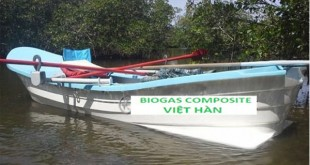 Canô bằng chất liệu composite