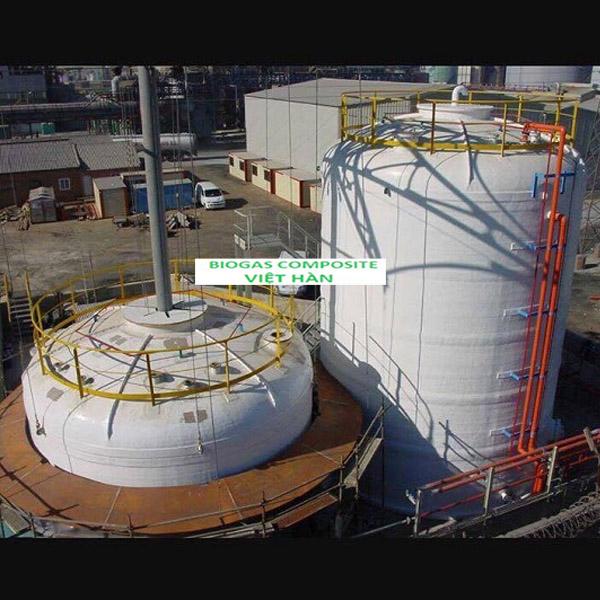 Sản xuất bồn xử lý nước thải Composite