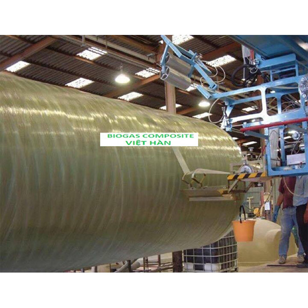 Bồn chứa hóa chất chất liệu Composite