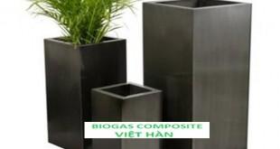 Chậu cây chất liệu composite